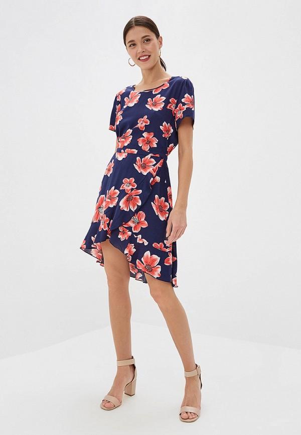 Фото 2 - женское платье Only синего цвета