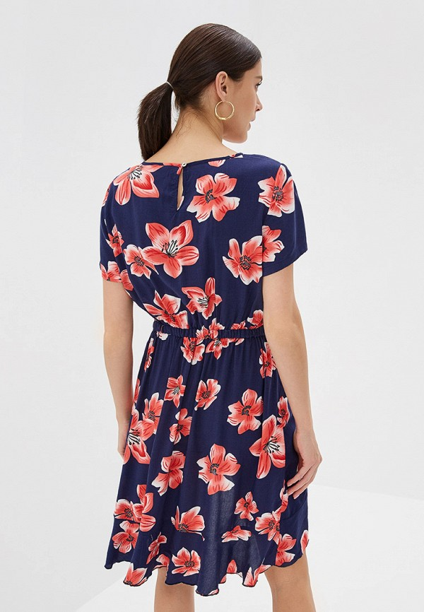 Фото 3 - женское платье Only синего цвета