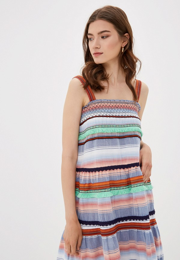 Фото 2 - женский сарафан Only разноцветного цвета
