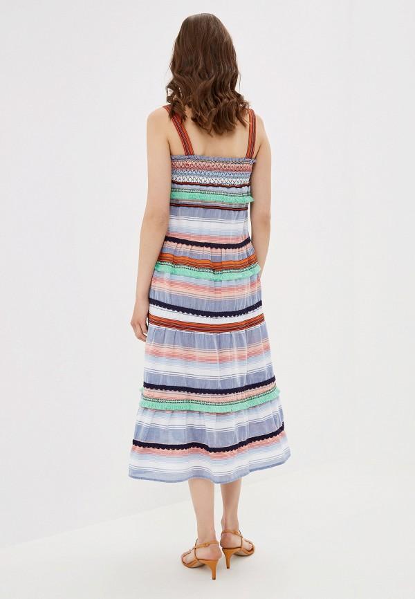 Фото 3 - женский сарафан Only разноцветного цвета