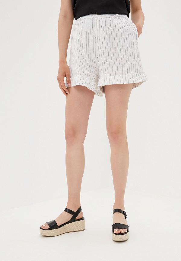 женские шорты only, белые