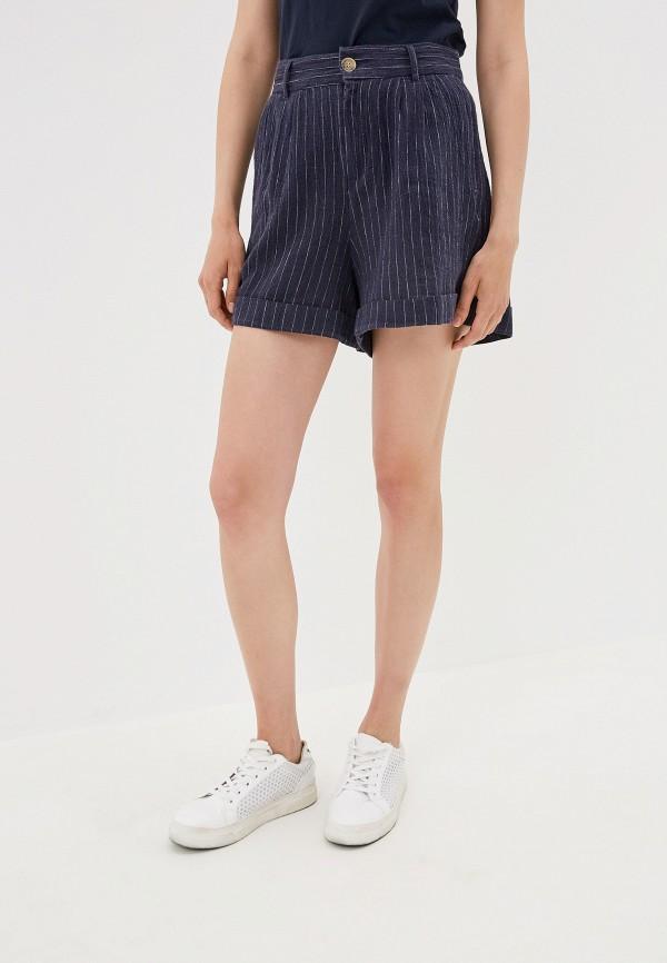 женские шорты only, синие