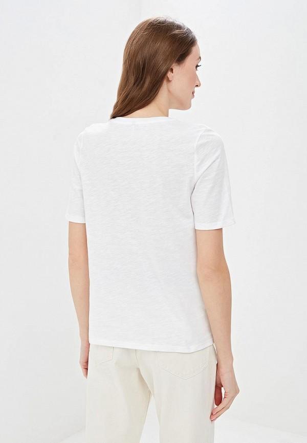 Фото 3 - женскую футболку Only белого цвета