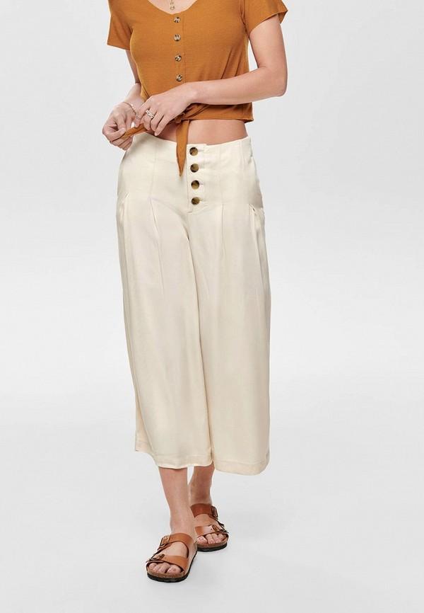 женские брюки only, белые