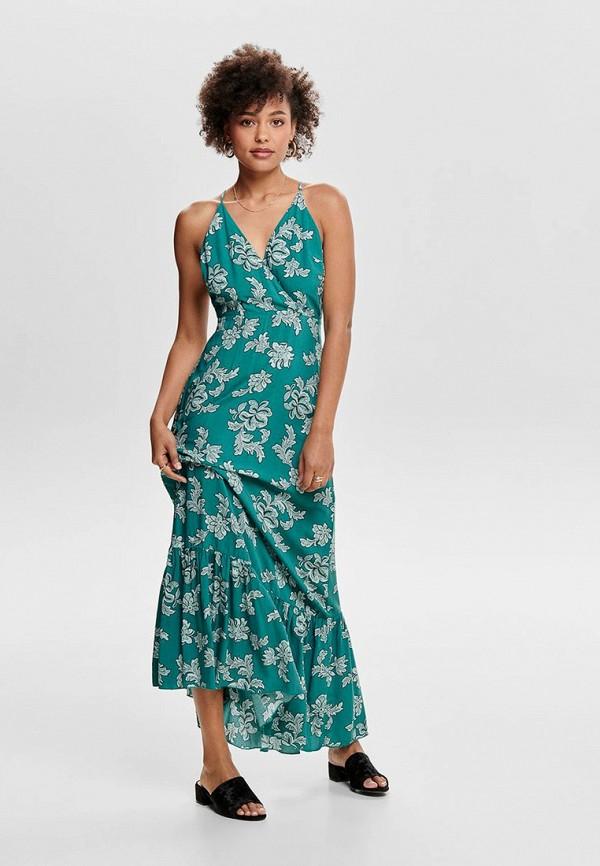 Купить женский сарафан Only бирюзового цвета