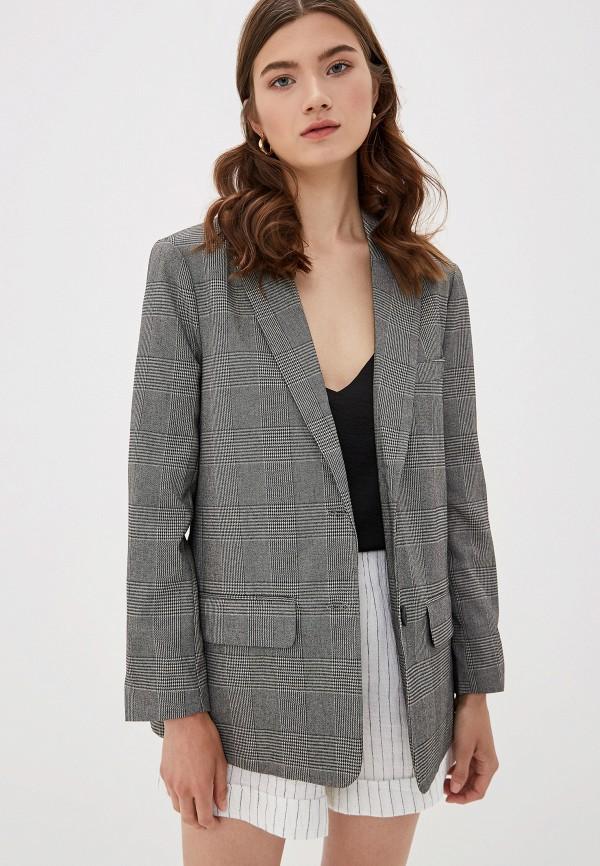 женский пиджак only, серый