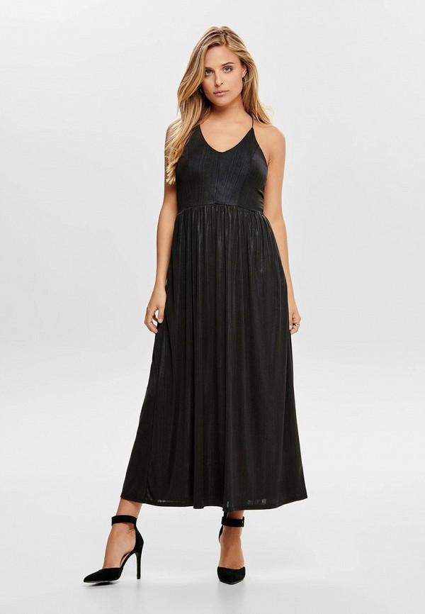 женское вечерние платье only, черное