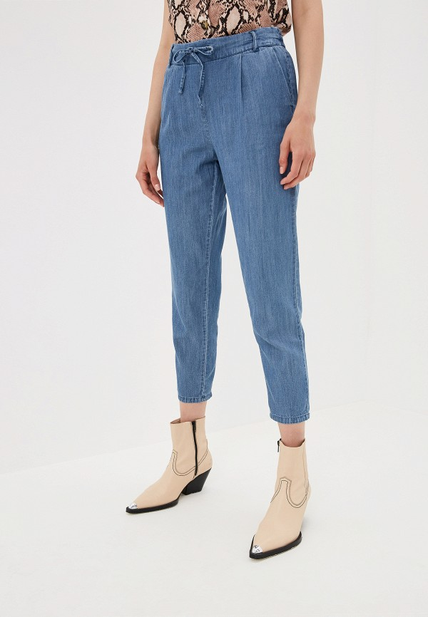 Фото - женские брюки Only синего цвета