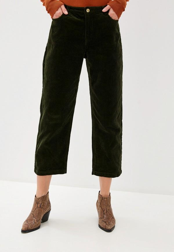 женские брюки only, зеленые