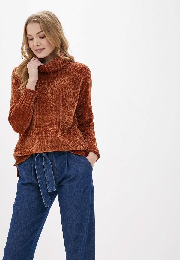женский свитер only, коричневый
