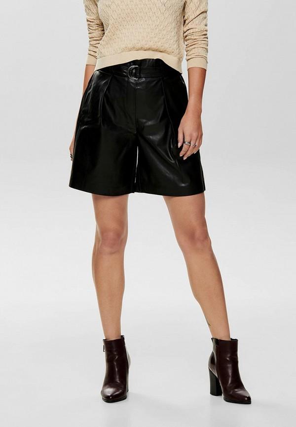 женские повседневные шорты only, черные