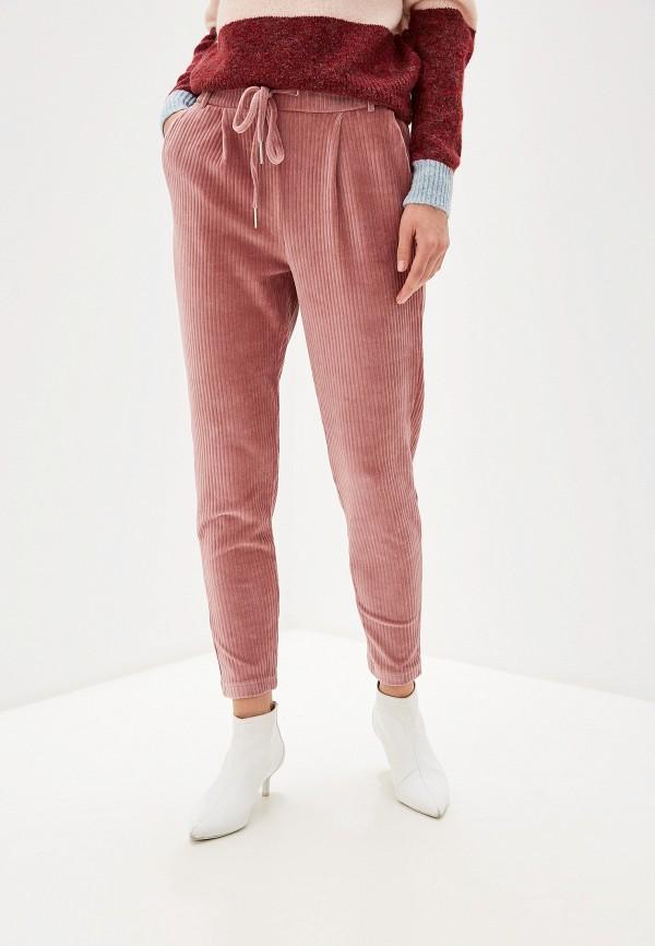 женские брюки only, розовые