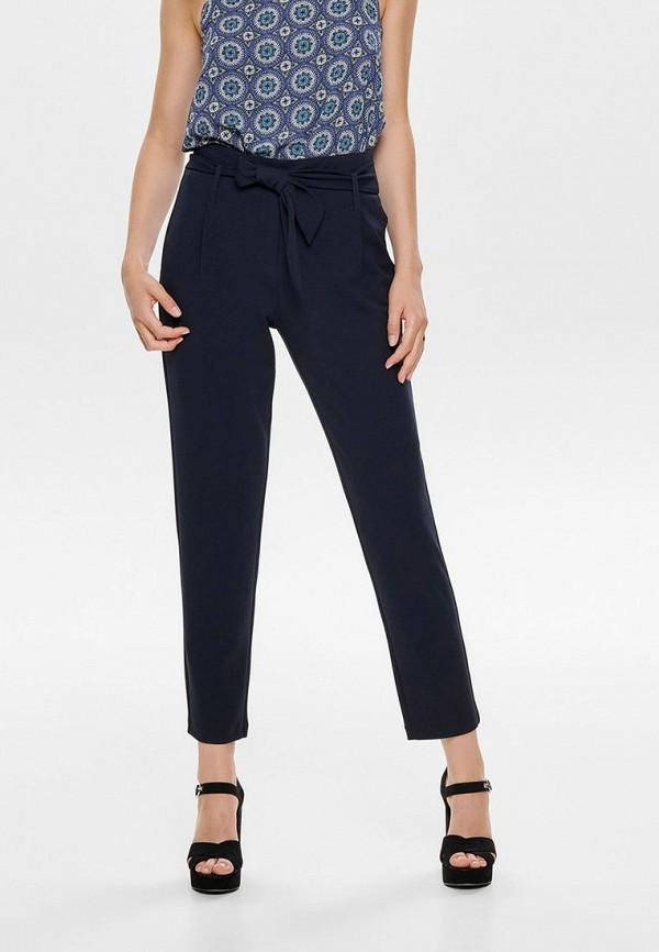 женские брюки only, синие