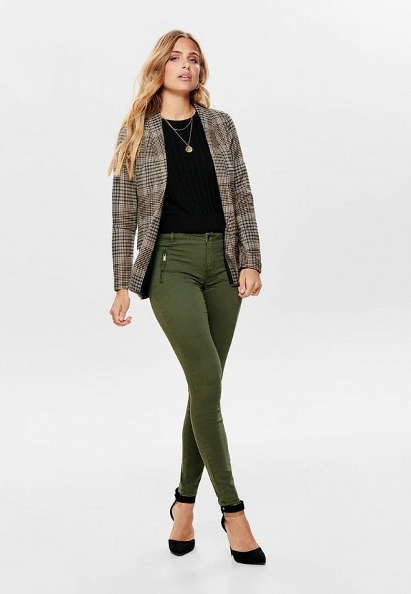 Фото 2 - женский пиджак Only бежевого цвета