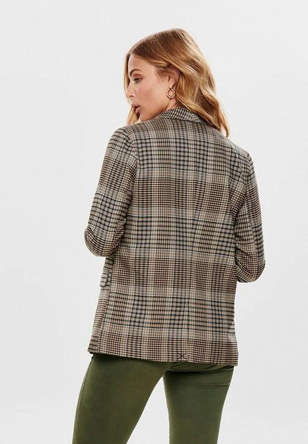 Фото 3 - женский пиджак Only бежевого цвета