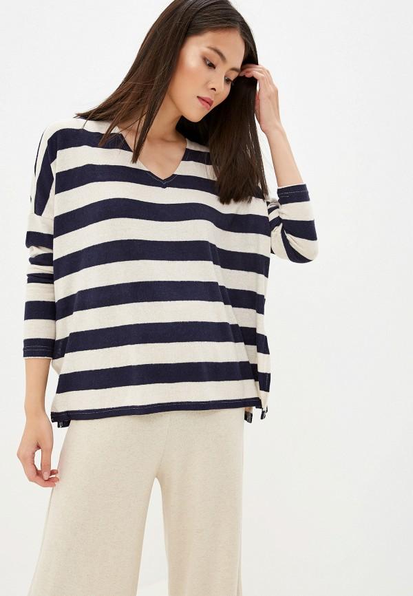 Фото - женский пуловер Only синего цвета