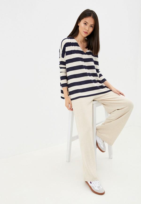 Фото 2 - женский пуловер Only синего цвета