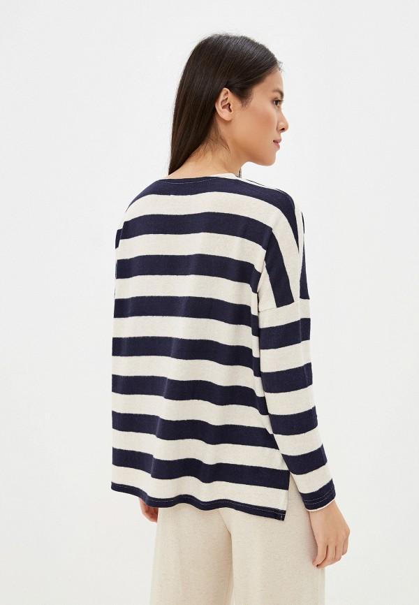 Фото 3 - женский пуловер Only синего цвета
