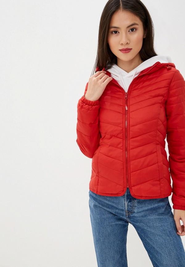 Фото - Куртку утепленная Only красного цвета