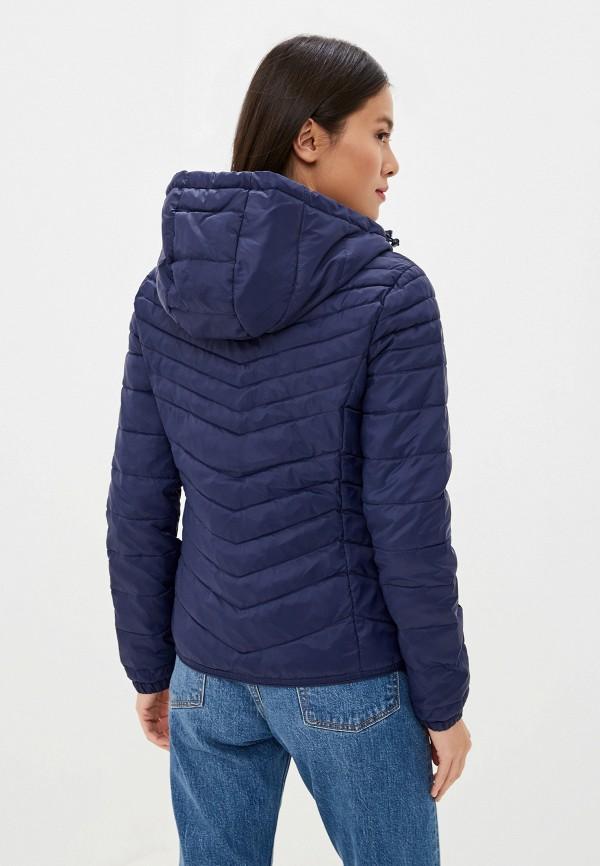 Фото 3 - Куртку утепленная Only синего цвета