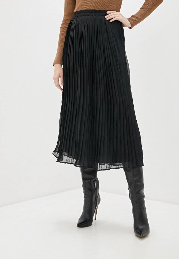 женская юбка only, черная