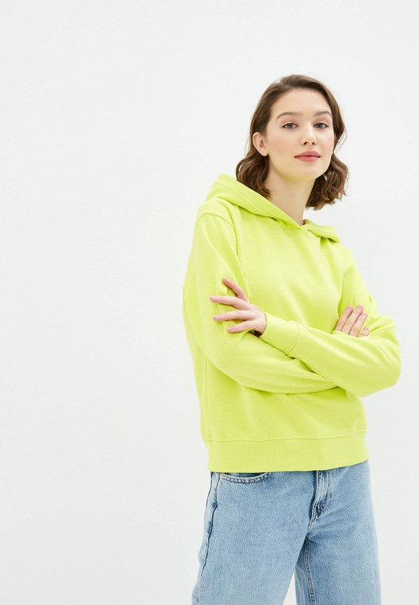 женские худи only, желтые