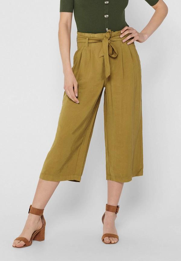 женские брюки only, хаки