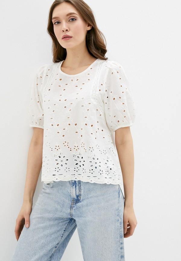 женская блузка only, белая