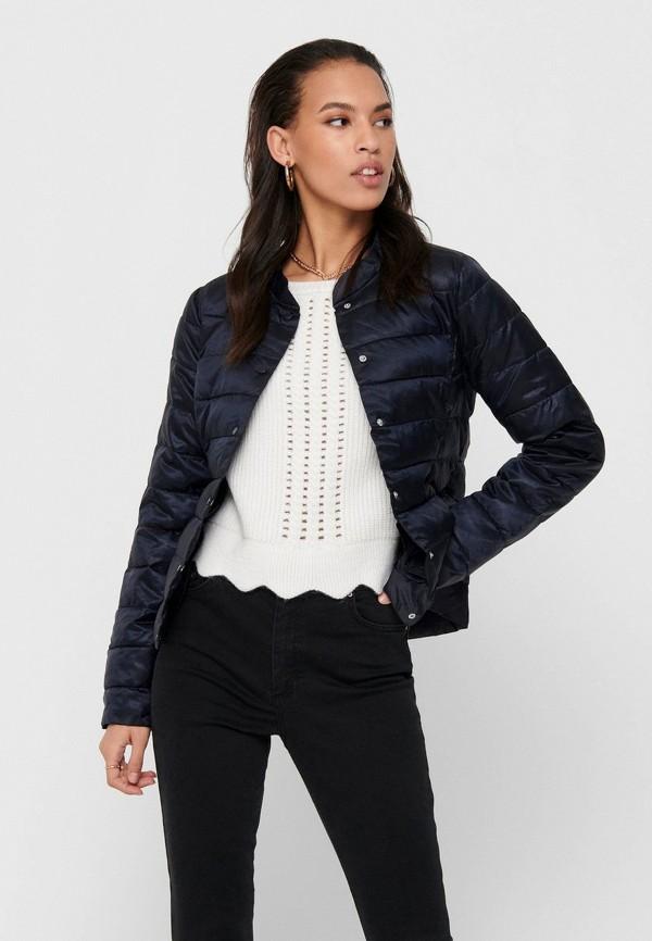 женская куртка only, синяя