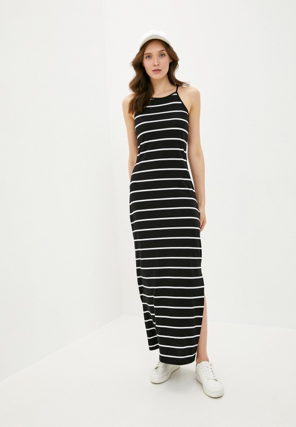 женское платье only, черное