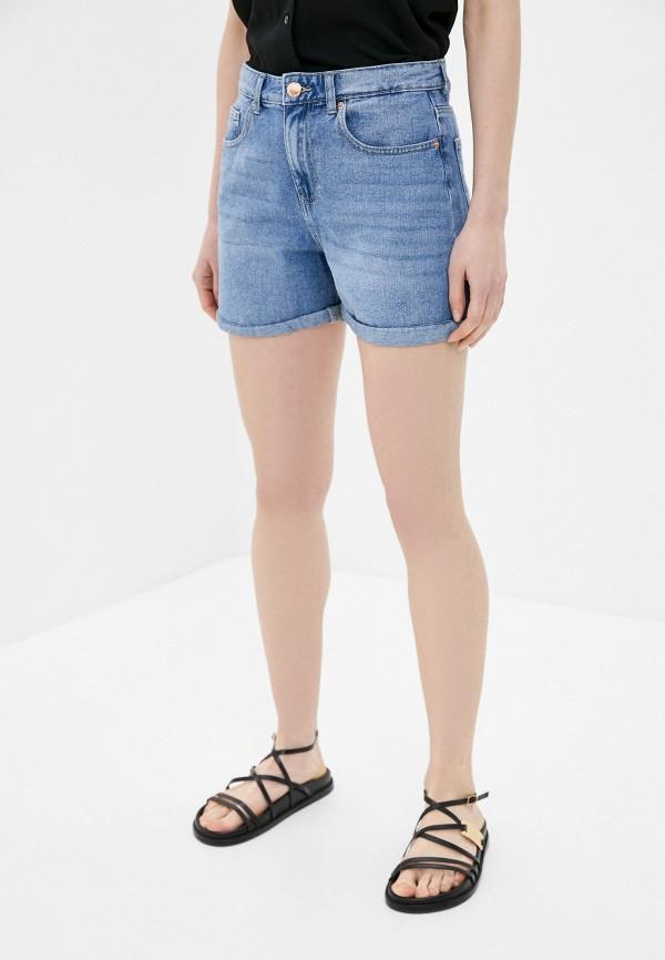 женские джинсовые шорты only, синие
