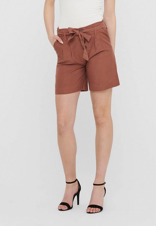 женские повседневные шорты only, бордовые