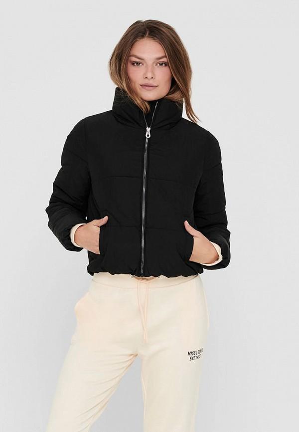 женская куртка only, черная