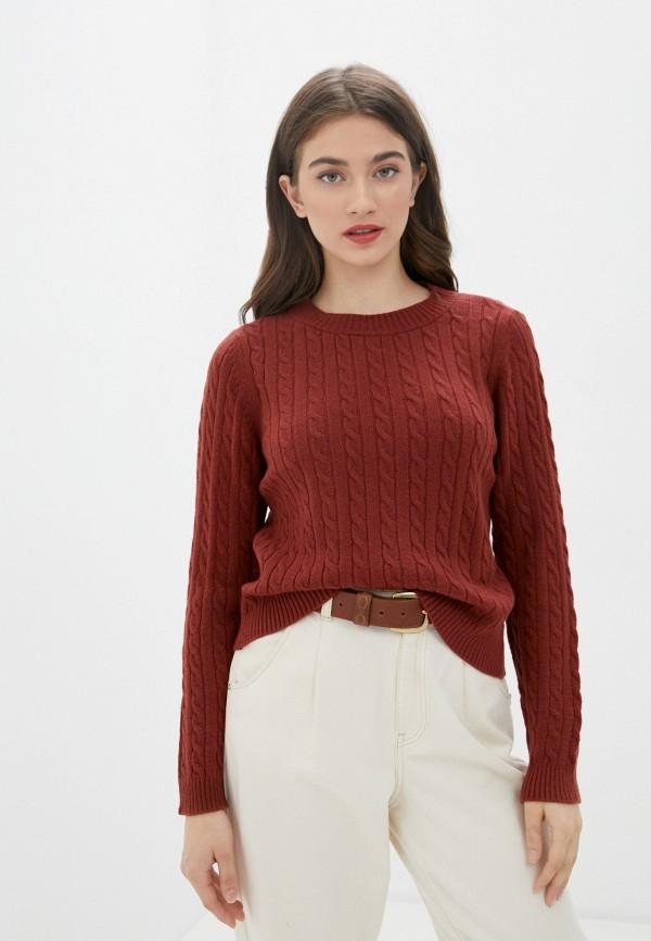 женский джемпер only, коричневый