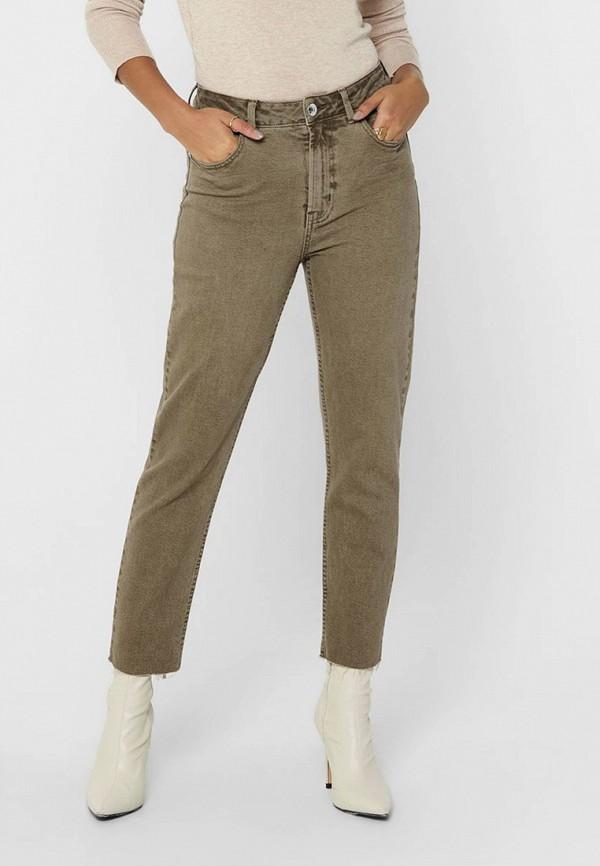 женские джинсы only, коричневые