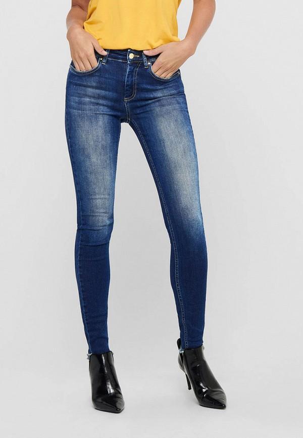 женские джинсы only, синие