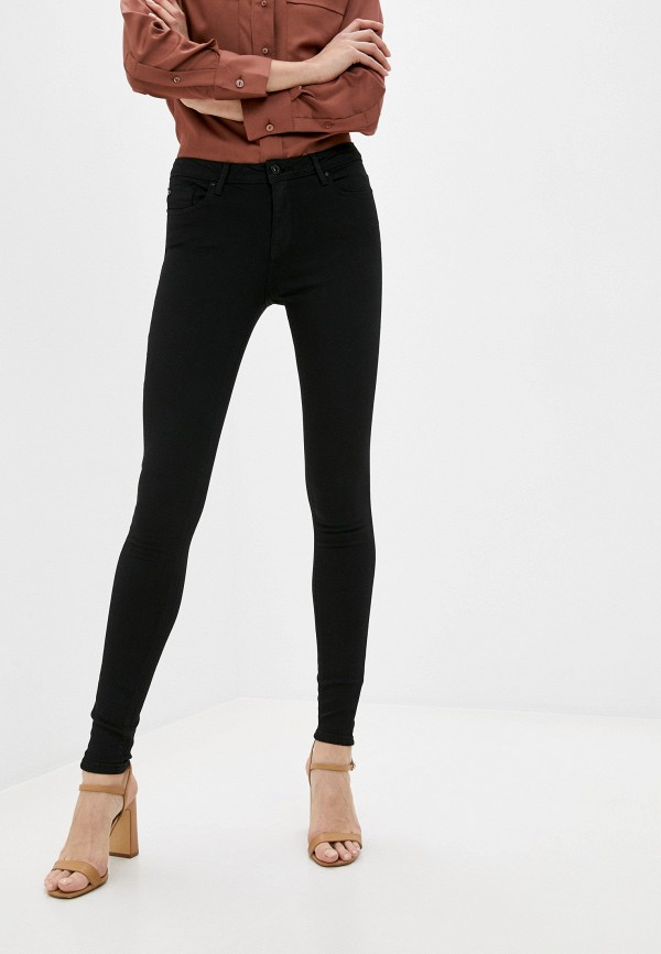 женские джинсы скинни only, черные