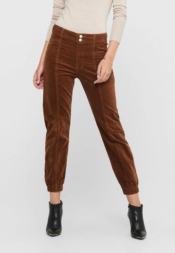 женские повседневные брюки only, коричневые