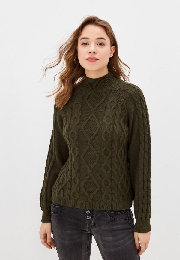 женский свитер only, хаки