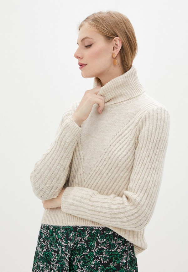 женский свитер only, бежевый