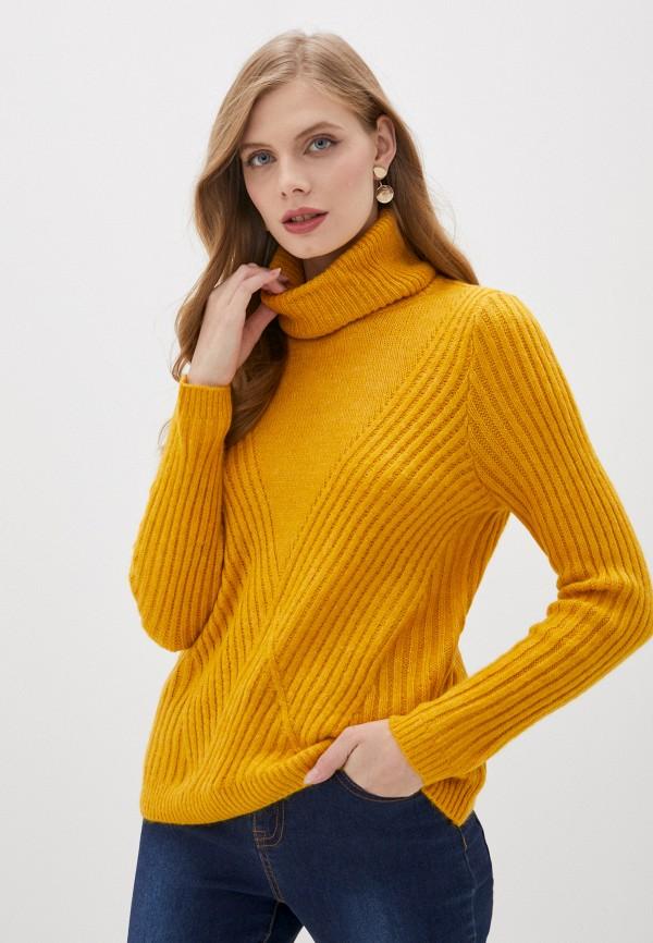 женский свитер only, желтый