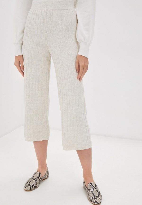 женские повседневные брюки only, бежевые
