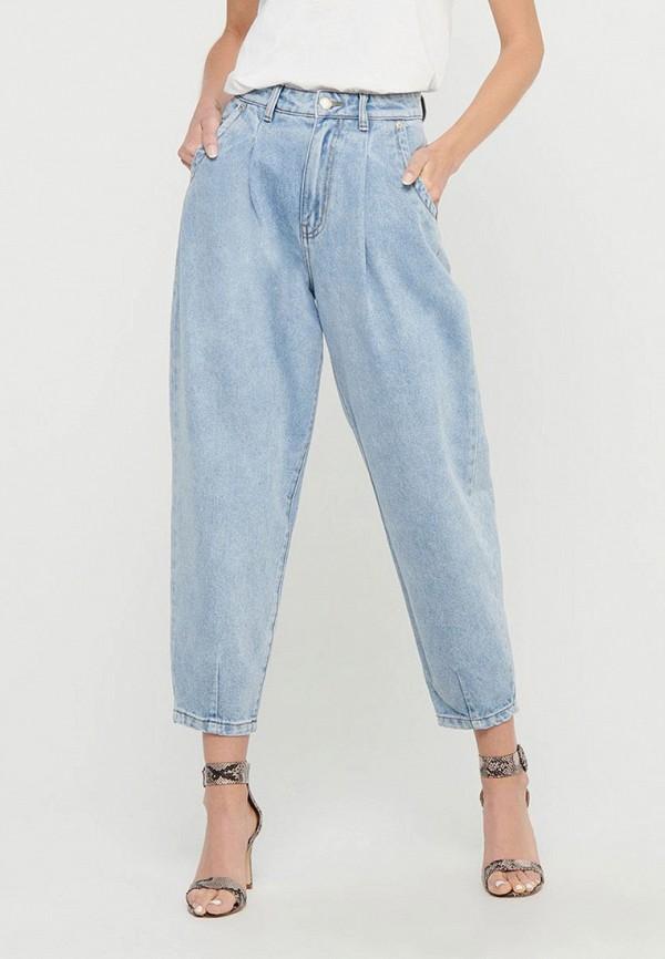 женские джинсы бойфренд only, голубые