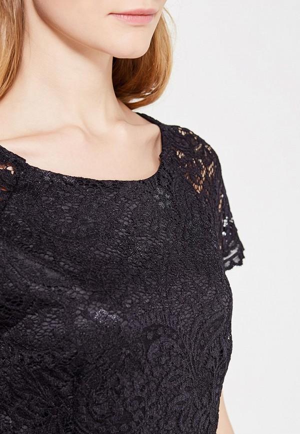 Фото 4 - женское платье Only черного цвета