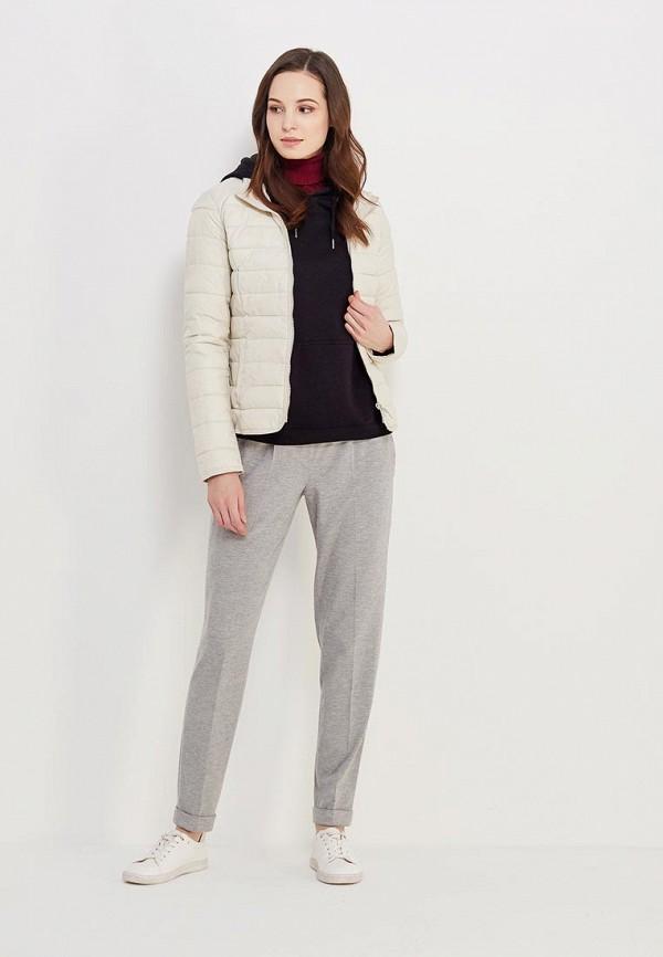Фото 2 - Куртку утепленная Only бежевого цвета
