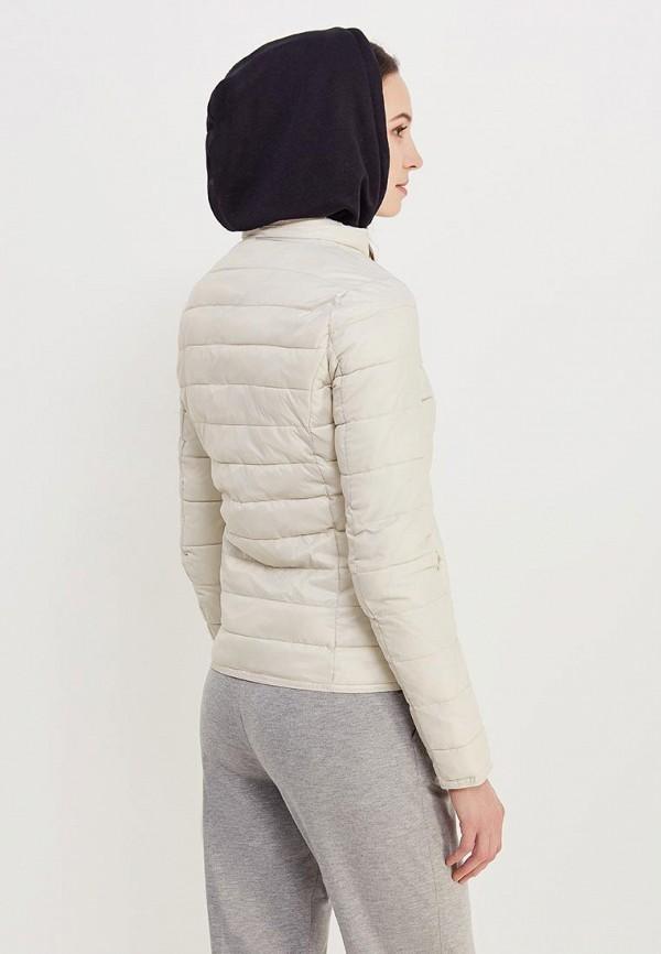 Фото 3 - Куртку утепленная Only бежевого цвета