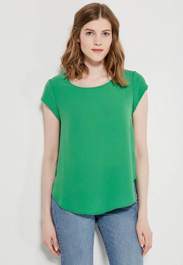 Купить Блуза Only, on380ewzkw72, зеленый, Весна-лето 2018