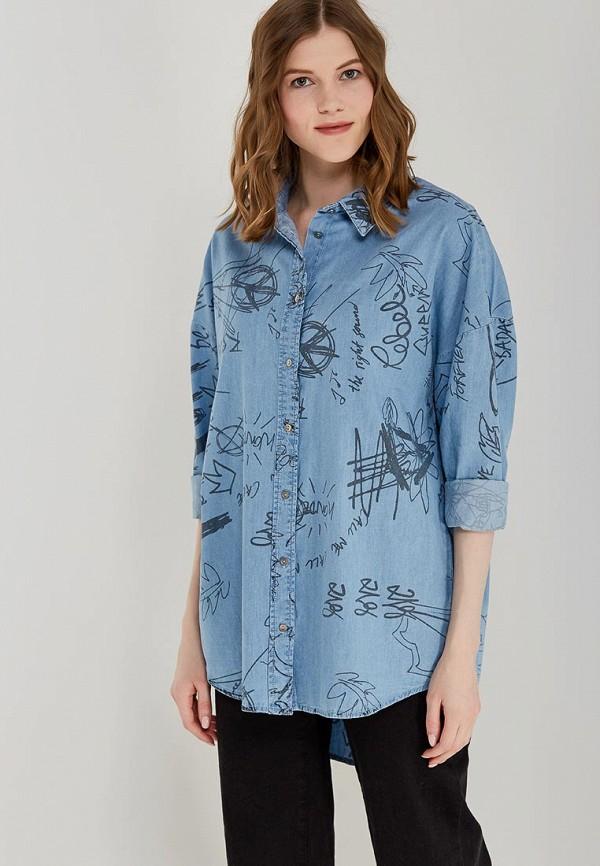 Купить Рубашка джинсовая Only, ON380EWZKX02, голубой, Весна-лето 2018