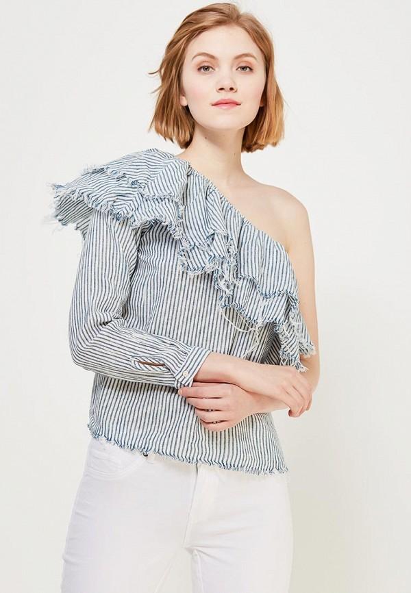 Купить Блуза Only, on380ewzkx40, синий, Весна-лето 2018