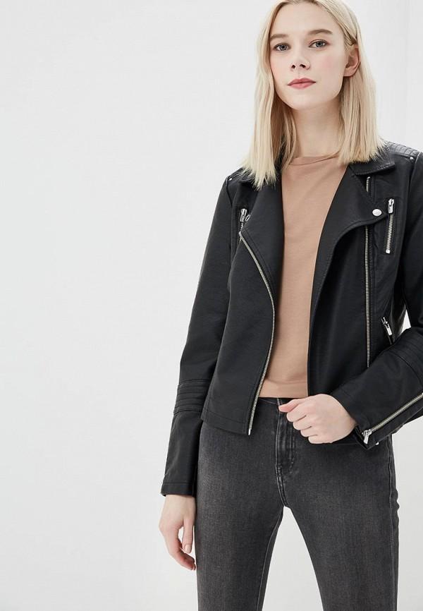 Купить Куртка кожаная Only, on380ewzkx42, черный, Весна-лето 2018